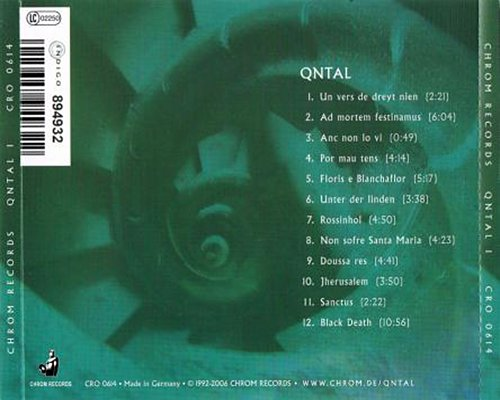 Qntal - Qntal (1992 Gymnastic Records / Classx, Chrom Records GmbH)