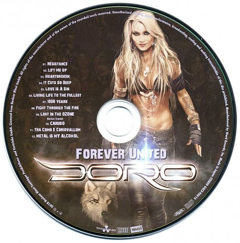 Doro - Forever Warriors - Forever United (2018) (2 CD)
