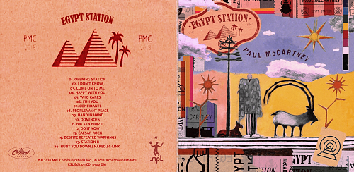 Paul McCartney - Egypt Station(2018)