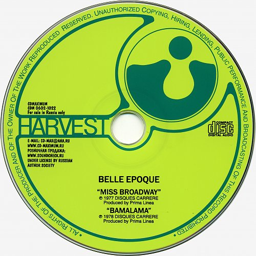 Belle Epoque - Miss Broadway / Bamalama (2002)