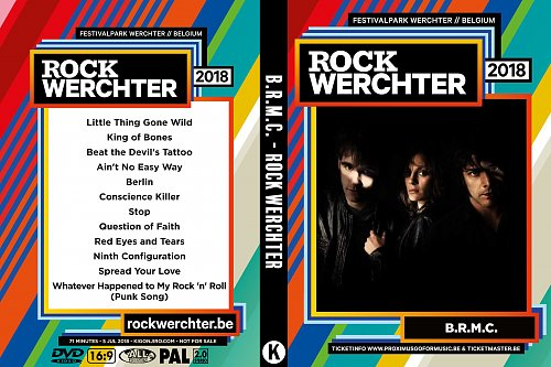 Black Rebel Motorcycle Club - Rock Werchter (2018)