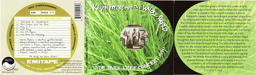 Kevin Ayers And The Whole World - Hyde Park Free Concert 1970 (2007)