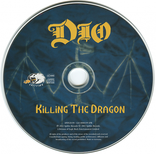 Dio - Killing The Dragon (2002)