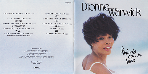 Dionne Warwick - Friends Can Be Lovers (1993)