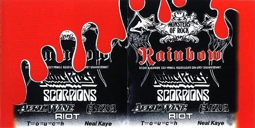 Saxon-Live in Donnington(1980)