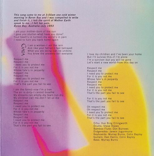 Olivia Newton-John - Gaia. One Woman's Journey (1994)