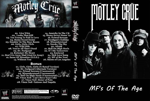 Motley Crue - MF's of the Age (2014)