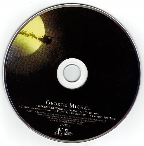 George Michael - December Song (2009, CDS)