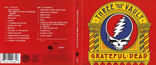 Grateful Dead - Three From The Vault (2007)