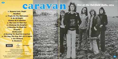 Caravan - Live At The Fairfield Halls, 1974 (1980)