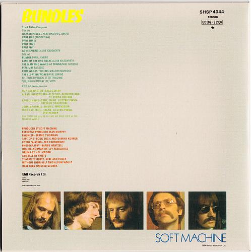 Soft Machine - Bundles (1975)