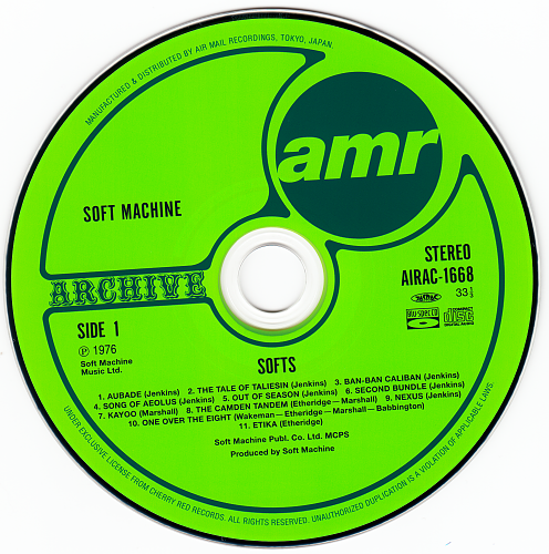 Soft Machine - Softs (1976)