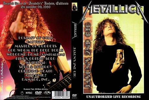 Metallica - Jasons 2ND Gig (1986)