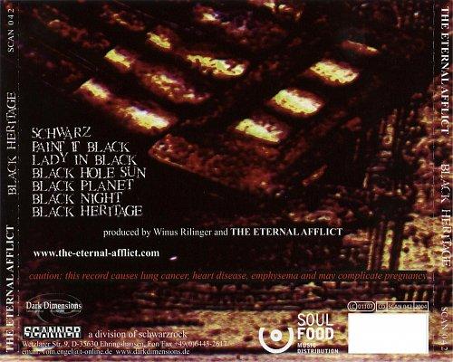 Eternal Afflict - Black Heritage (2004 Ho®ro®scope/Scanner/Schwarzrock/Dimensions/SoulFood, Germany)