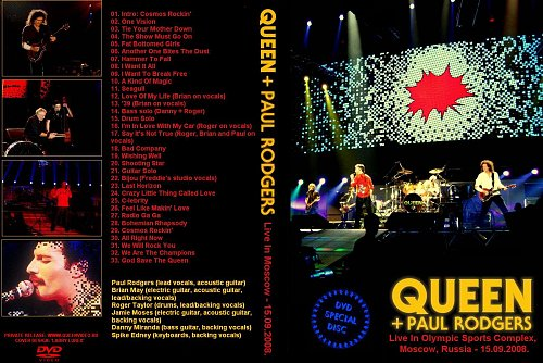 Queen + Paul Rodgers Live in Moscow (2008)