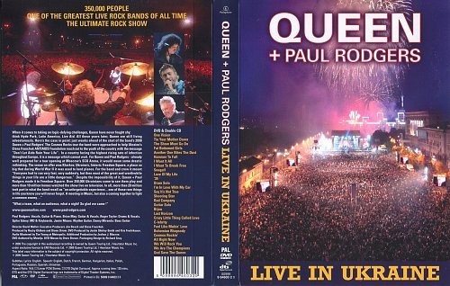 Queen + Paul Rodgers Live in Ukraine (2009)