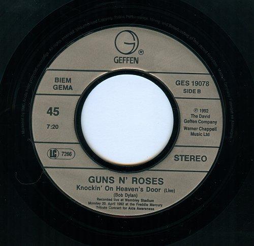 Guns N' Roses - Knockin' On Heaven's Door - 1992