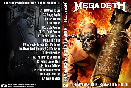 Megadeth ''The New War Order'' (2018)