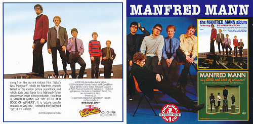 Manfred Mann - The Manfred Mann Album / My Little Red Book (2001)