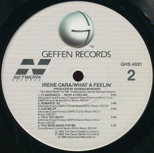 Irene Cara - What A Feelin' (1983)
