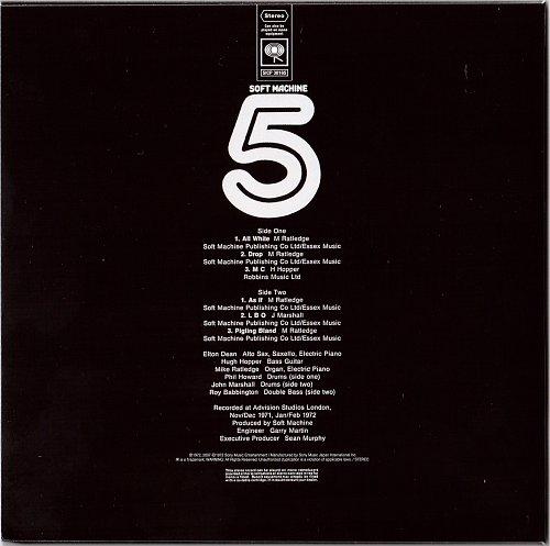 Soft Machine - Fifth (1972)