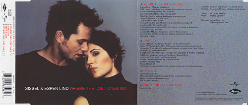 Sissel & Espen Lind - Where The Lost Ones Go (2001, CDS)