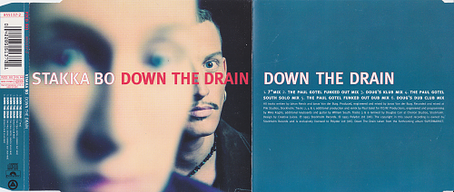 Stakka Bo - Down The Drain (1993, CDM)