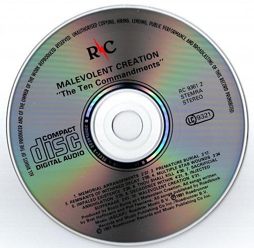Malevolent Creation - The Ten Commandments (1991)