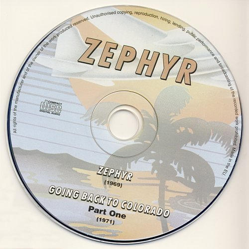 Zephyr - Zephyr / Going Back To Colorado / Sunset Ride (2010)