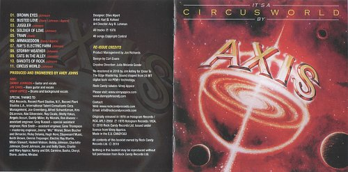 Axis - It's A Circus World (1978)