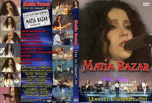 Matia Bazar - Live in Concert (1981)