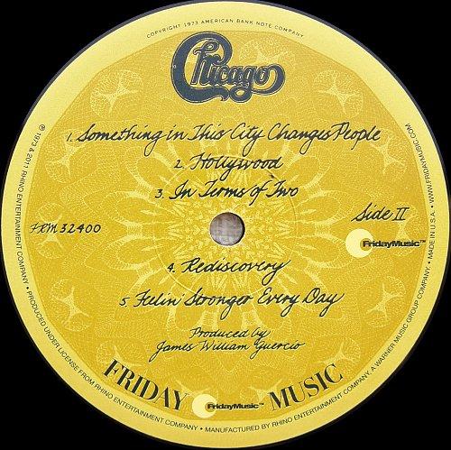 Chicago - Chicago VI (1973)