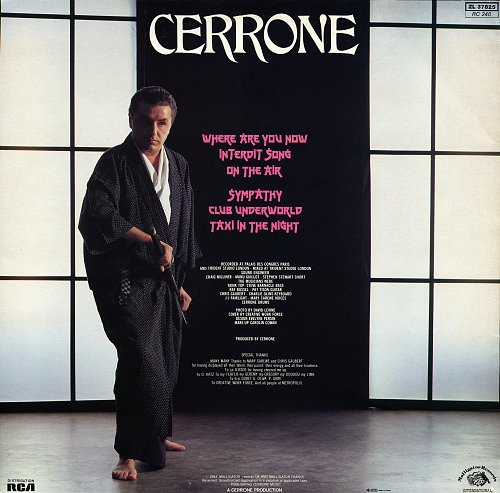Cerrone - Where Are You Now (1983)