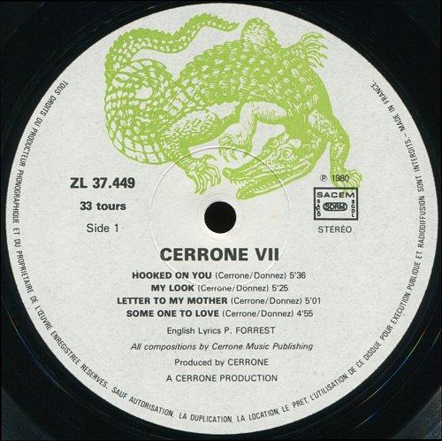 Cerrone - Cerrone VII-You Are The One (1980)