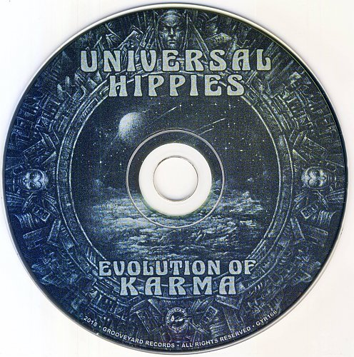 Universal Hippies - Evolution Of Karma (2018)