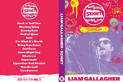 Liam Gallagher - Sziget Island of Freedom (2018)