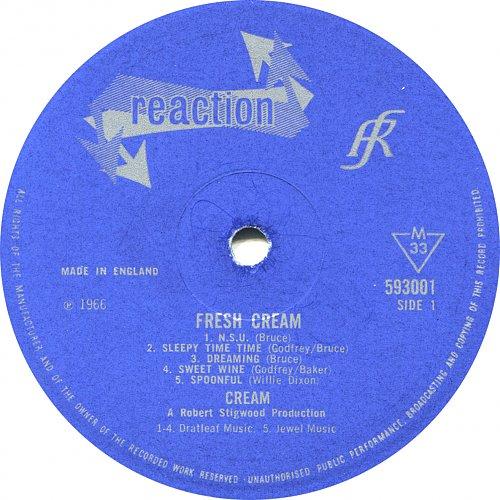 Cream - Fresh Cream (1966)