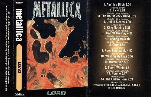 Metallica - Load (1996) [PolyGram - 532618-4]