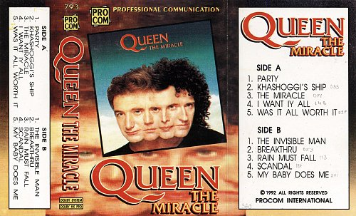 Queen - The Miracle (1989) [ProCom - 793]