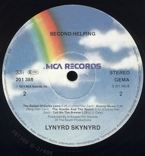 Lynyrd Skynyrd - Second Helping (1974)
