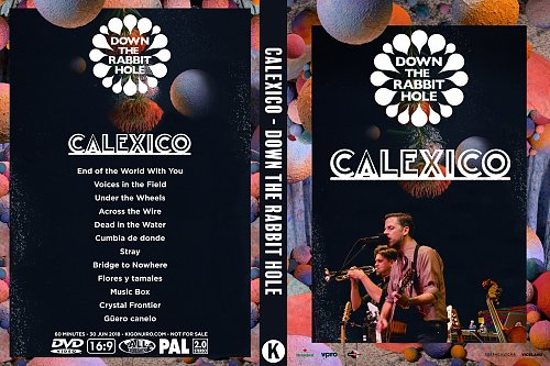 Calexico - Down the Rabbit Hole (2018)
