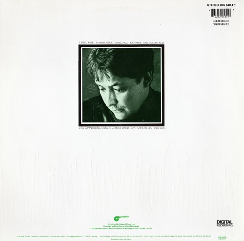 Chris Rea - Shamrock Diaries (1985) [Germany - Magnet 825 539-1]