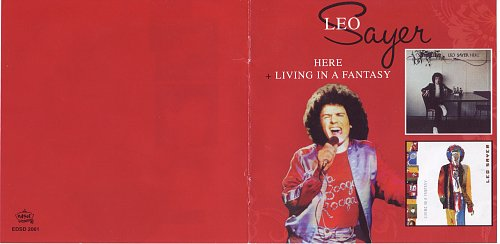Leo Sayer ‎- Here + Living In A Fantasy (2009)