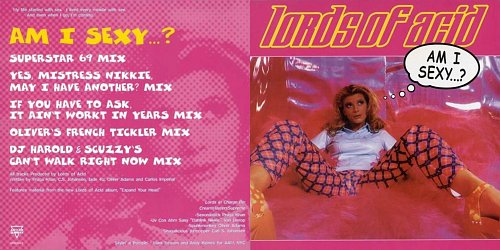 Lords of Acid - Am I Sexy ... ? (1999 Antler Subway Records NV, Never Records, Disctronics, USA)