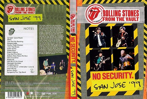 The Rolling Stones - From The Vault No Security - San Jose '99 (2018)