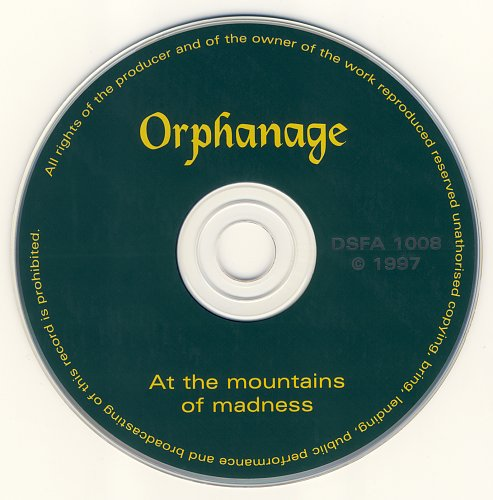 Orphanage - At The Mountains Of Madness (1997)