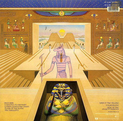 Iron Maiden - Powerslave (1984) [1C 064-24 0200 1]