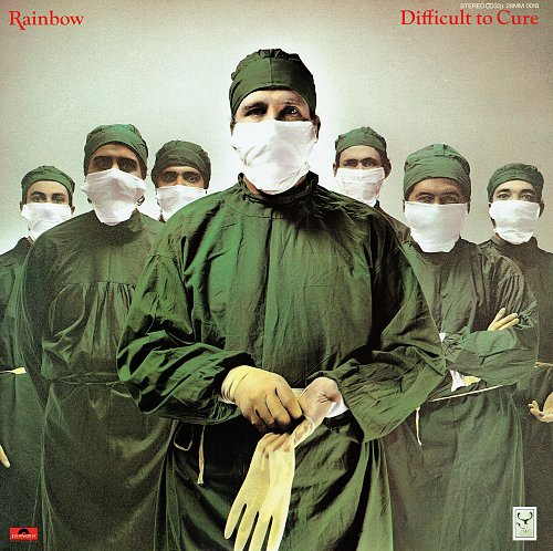 Rainbow - Difficult To Cure (1981) [28MM 0018, Japan]