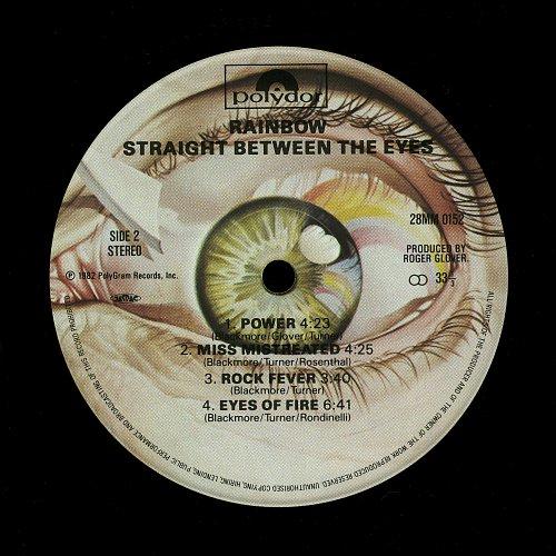 Rainbow - Straight Between The Eyes (1982) [28MM 0152, Japan]