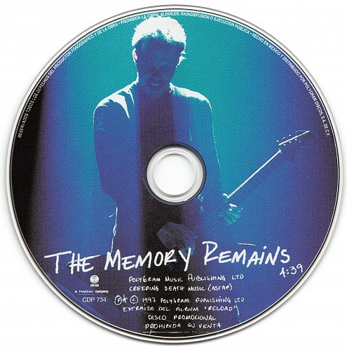 Metallica - The Memory Remains (1997, CD-Single)